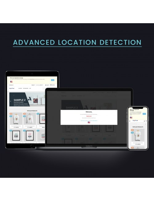 Module Advanced Location Detection for PrestaShop